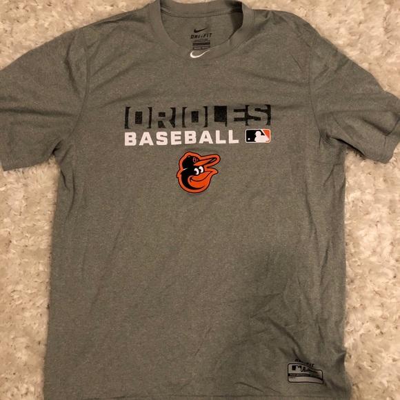 promo code 91925 3d93e Nike Baltimore Orioles T Shirt Medium